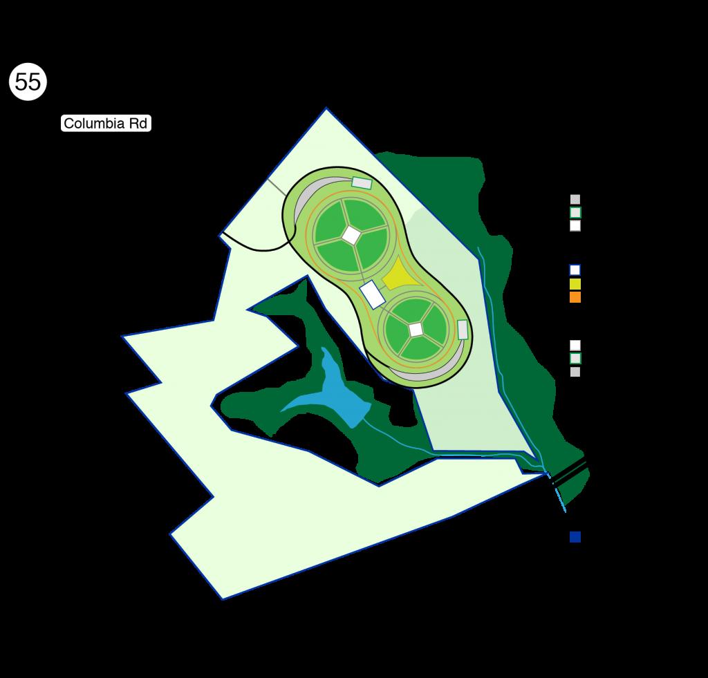 Campbellsville Sport Complex - map